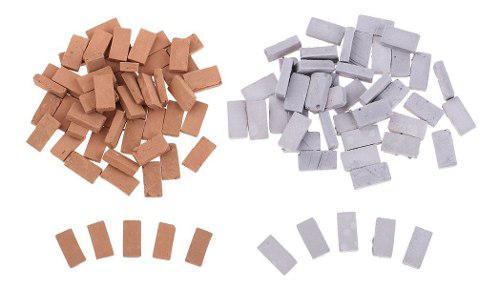 1/35 Escala Juguetes Modelo De Ladrillo En Miniatura Para