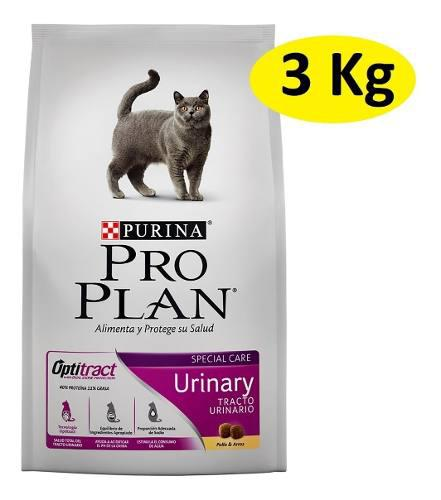3kg Alimento Croqueta Purina Proplan Gato Urinary Optitract