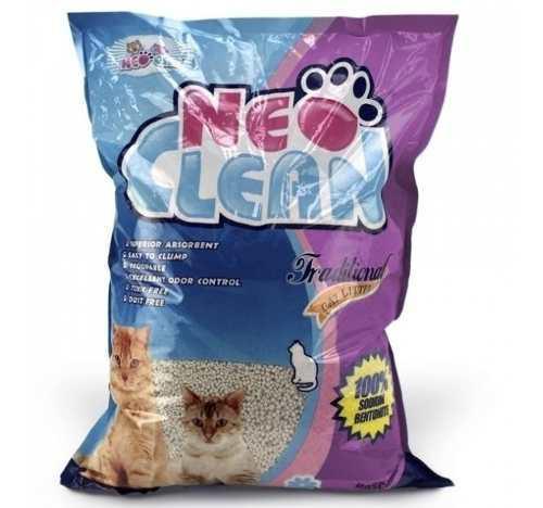 Arena Para Gatos Neo Clean 5lts Olor Lavanda Mascotas