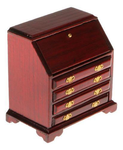 Casa De Muñecas En Miniatura Muebles Cajón De Armario