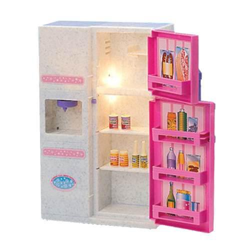 Escala 1/6 Miniaturas Accesorios De Plásticos De Dollhouse