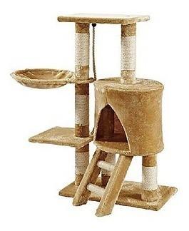 Mueble Para Gato Con Escalera Y Hamaca 96 Cm Fl8456