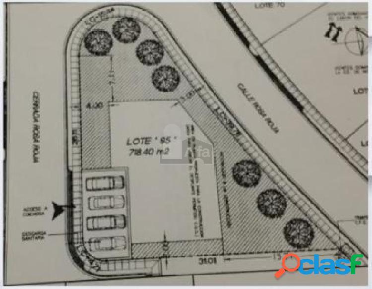 Terreno habitacional en venta en Sierra Alta 3er Sector,