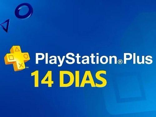 14 Dias De Psn Plus - Playstation Plus Ps3 Ps4 Ps Vita