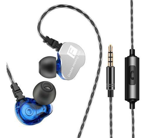 Audífonos Profesionales Qkz Ck9 Manos Libres Sony Estéreo
