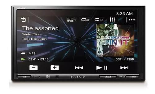 Auto Estereo De Pantalla Sony Xav-v751bt Bluetooth Usb