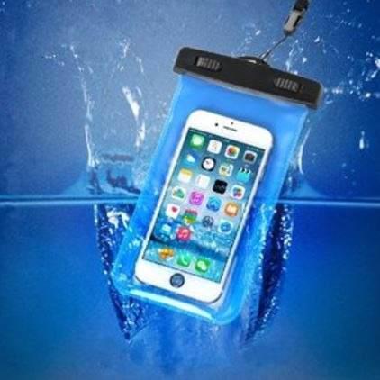 Bolsa Funda Protectora Contra Agua Smartphone Samsung iPhone
