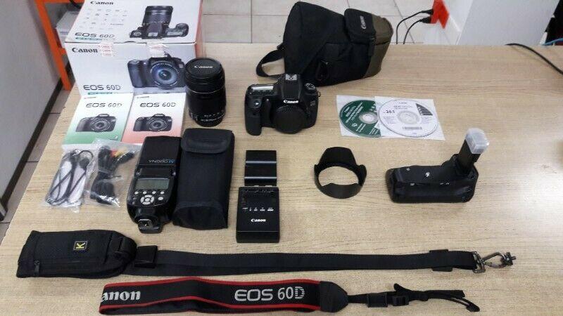 Canon Eos 60d Kit + Accesorios