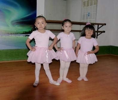 Clases de ballet y Jazz Sábados para niñas en Coyoacán