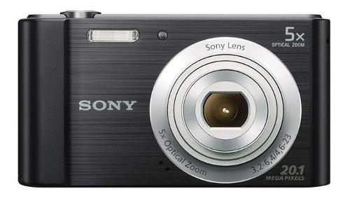 Cámara Sony Cyber Shot Dsc-w800 Negro 20.1mp