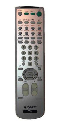 Control Para Tv Sony Wega / Sony Trinitron