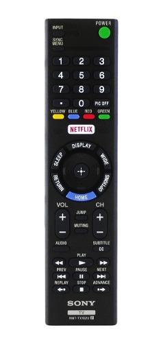 Control Remoto Para Smart Tv Sony Rmt-tx102 Original Netflix