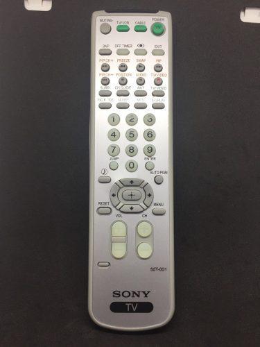 Control Remoto Para Tv Sony Wega Trinitron Sin Programacion