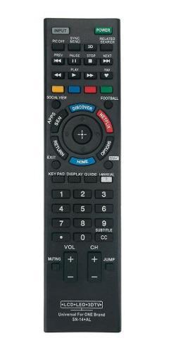 Control Remoto Universal Sony Lcd Led Tv Rm-yd005 Rm Yd-6005