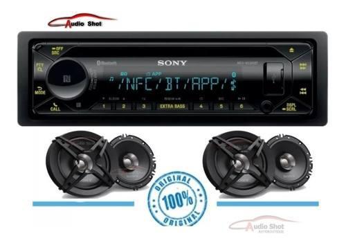 Estéreo Sony Mex-n5300bt Con 4 Bocinas Sony Xs-fb161e