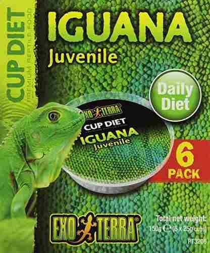 Exo Terra 6-pack De Menores De La Iguana De Alimentos, 0,8 O