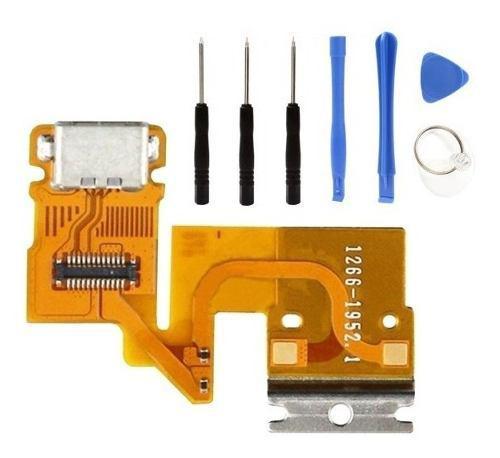 Flex Puerto Centro Carga Usb Tablet Sony Xperia Z Sgp311