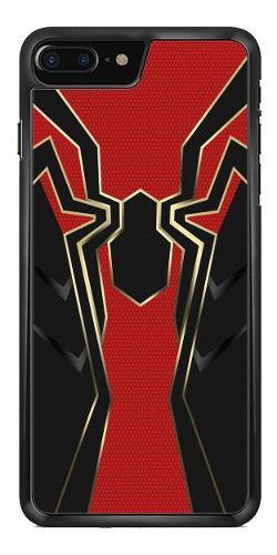 Funda Case Spiderman Infinity War iPhone 4 5 6 7 8 10 X Plus