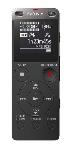 Grabadora De Voz Digital Sony Con Usb Integrado Icd-ux560fbc