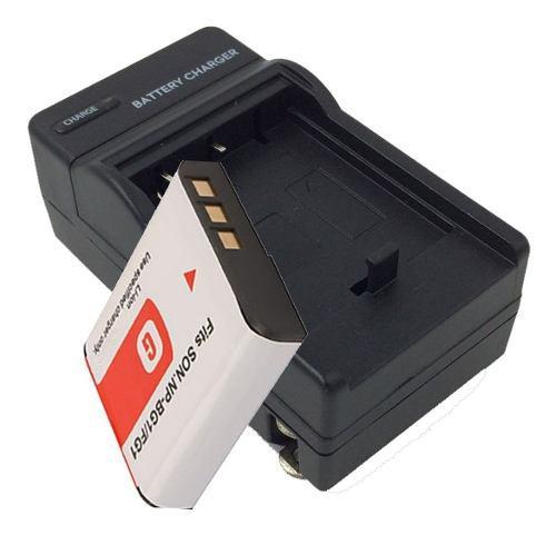 Kit Batería Y Cargador Np-bg1 Fg1 Gen Sony Cybershot Dsc-h3