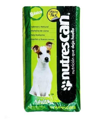 Nutrescan Básico Alimento Para Perro Adulto Bulto 22 Kg