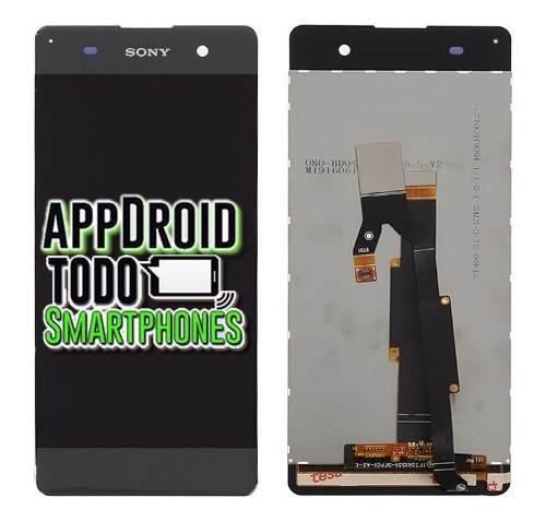 Pantalla Display Touch Sony Xperia Xa Original Gris Negro