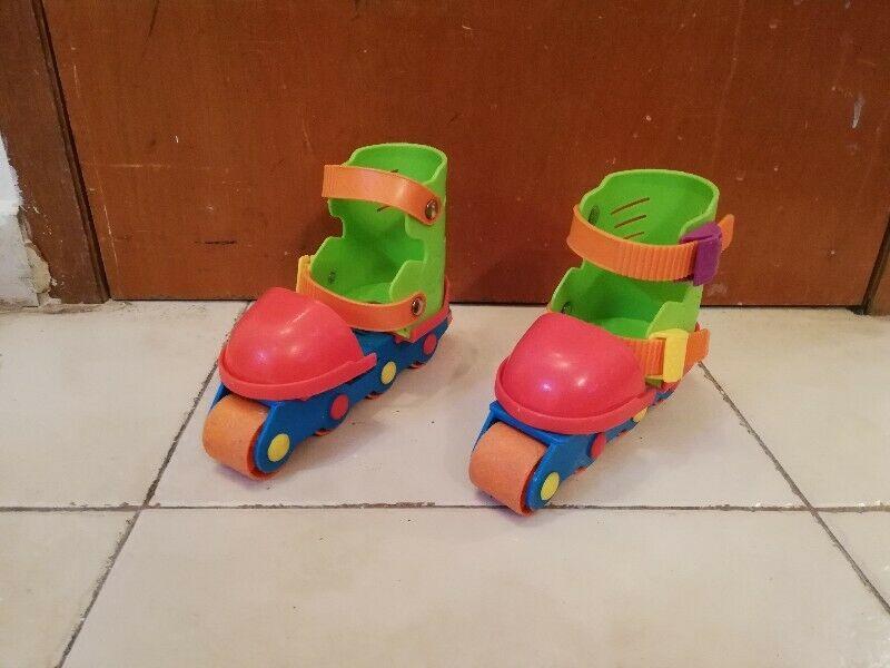 Patines en linea 123 para niños principiantes