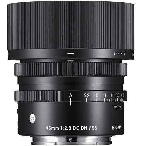 Sigma Lente 45mm F/2.8 Dg Dn Contemporary/sony E (msi)