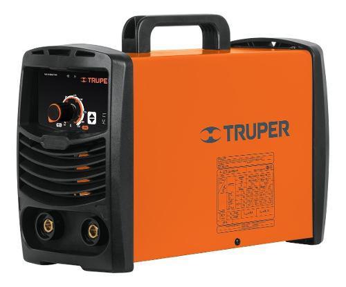 Soldadora Inversora 200 A Doble Voltaje Truper 16053