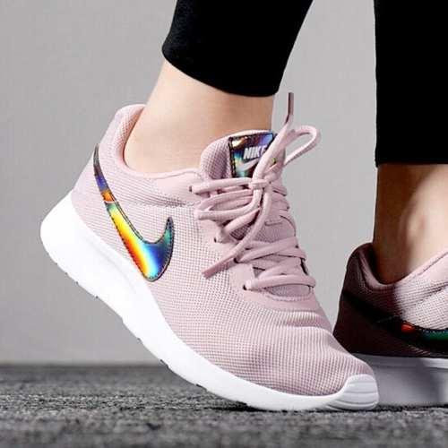 Tenis Nike Tanjun Mujer Rosa Originales