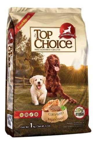 Top Choice 25kg Alimento Para Perro De Todas Las Razas