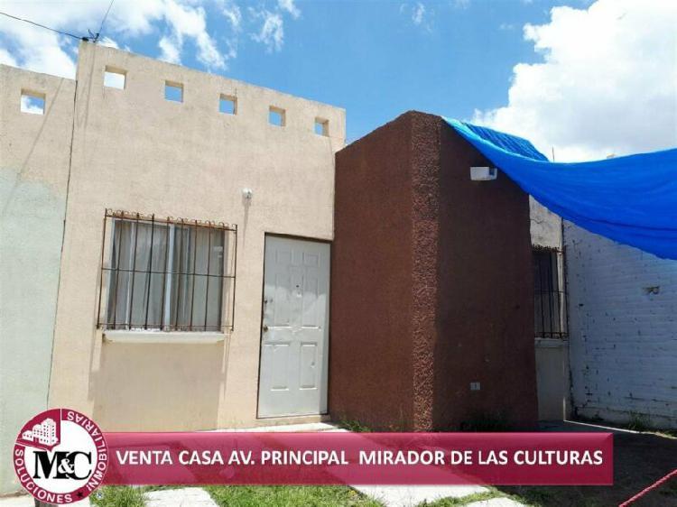 VENTA CASA EN AV. PRINCIPAL MIRADOR DE LAS CULTURAS /