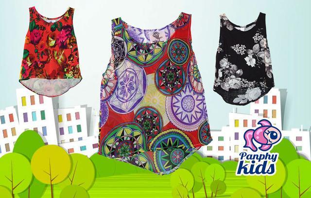 Vendo Lote 20 Blusas De Moda Marca Panphy Kids