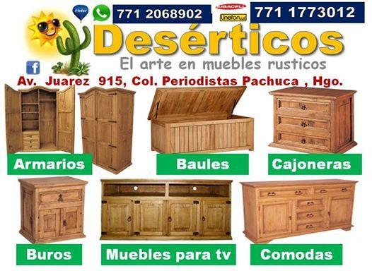 Vendo Muebles De Madera Solida