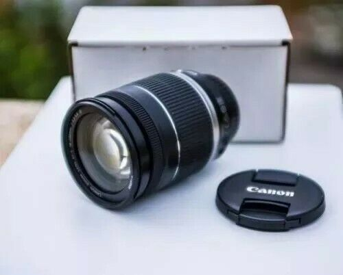 lente canon EF-S mmF