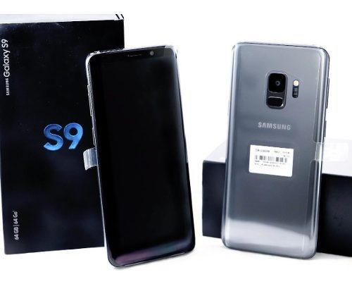 100% Nuevo Samsung S9 Gris Titanio 64 Gb No Usado