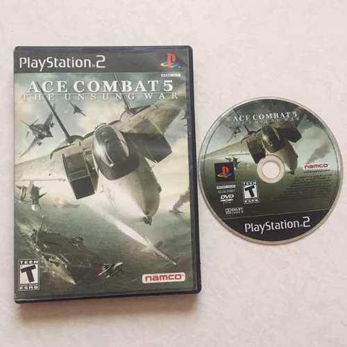 Ace Combat 5 Juegazo Para Tu Ps2 Aviones Chécalo