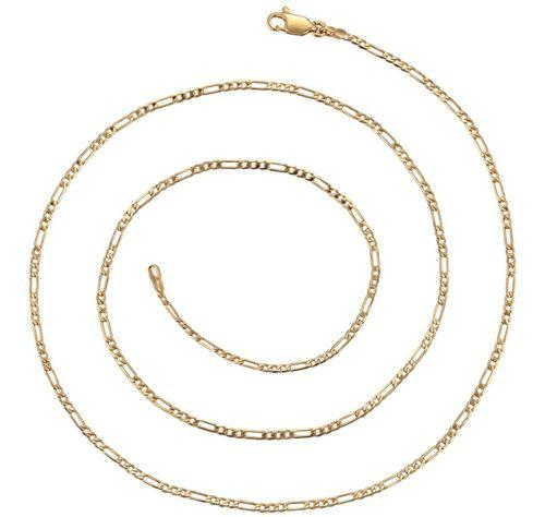 Cadena De Oro Lamin 14k Para Hombre Cadena De Cartier