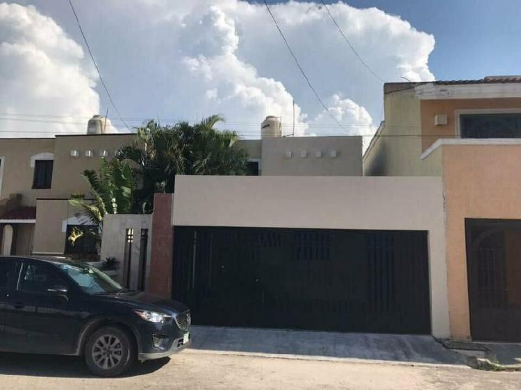 Casa en renta amueblada en Montecarlo, a 2 min. de plaza