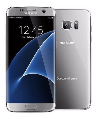 Celular Samsung Galaxy S7 Edge 32gb Plata 4g Smartphone Libr