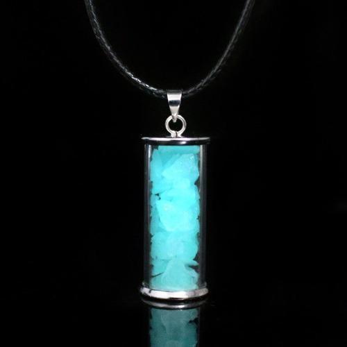Collar Cristal Luminoso Brilla En La Oscuridad Breaking Bad