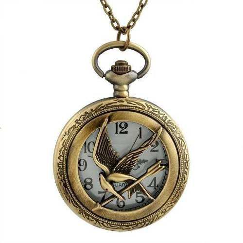 Collar Reloj De Bolsillo Juegos Del Hambre Oferta