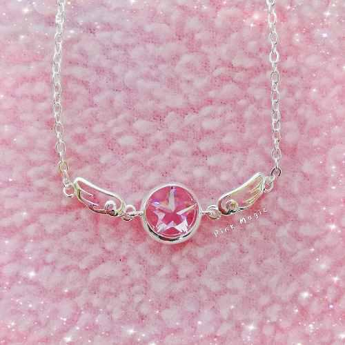 Collar Sakura Card Captor Plata S925
