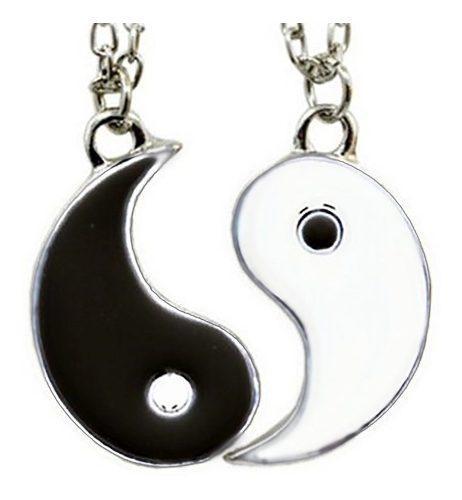 Collar Ying Yin Yang Novios Pareja Enamorados