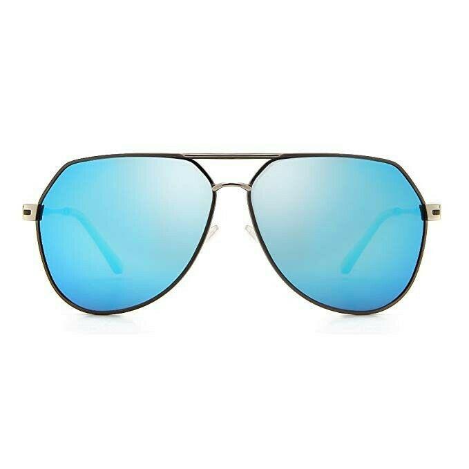 Cyxus Gafas de Sol Polarizadas Retro de gran Tamaño Google