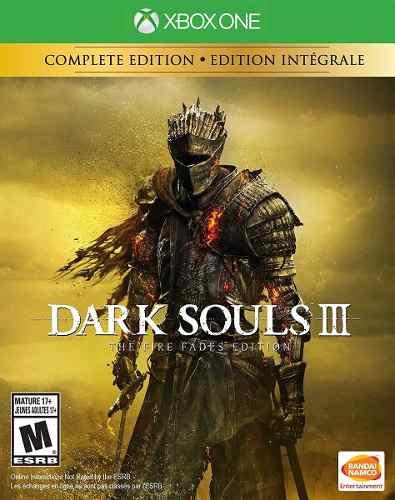 Dark Souls 3 The Fire Fades Edition Xbox One Nuevo
