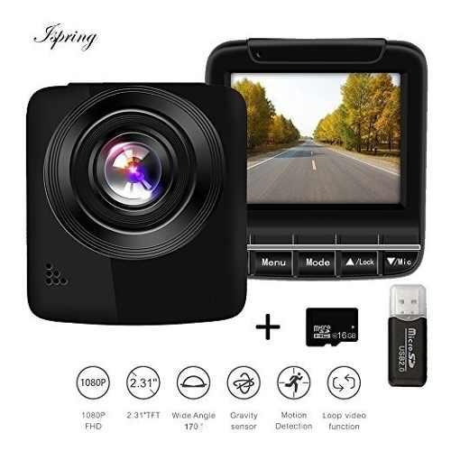 Dash Cam Fhd 1080p 60fps Super Night Vision Car Camera Dvr 2