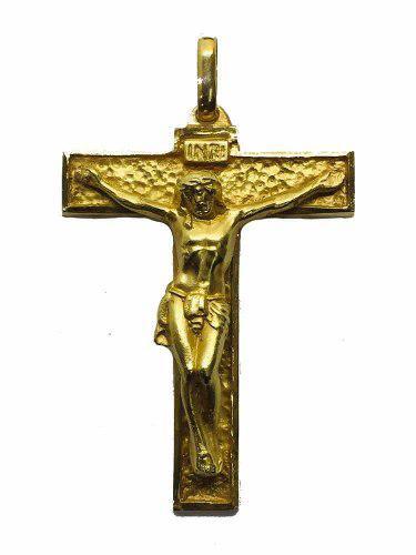 Dije Cruz Oro 10k Crucifijo #948 Bautizó Comunión