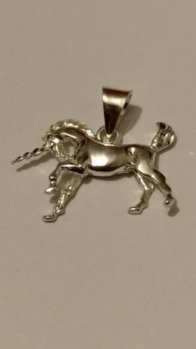 Dije De Unicornio De Plata 925 Estuche Y Envio Gratis