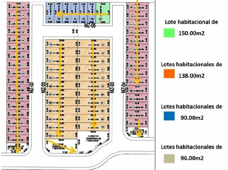 Enganche $145,000 Terreno Habitacional a 10 min Plaza del